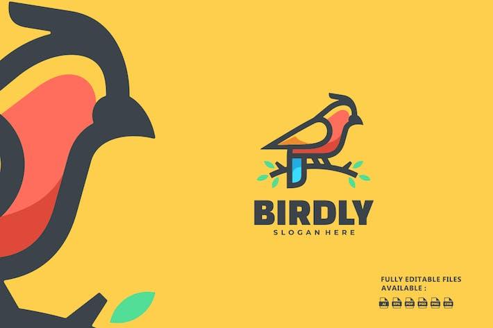 Bird Color Mascot Logo