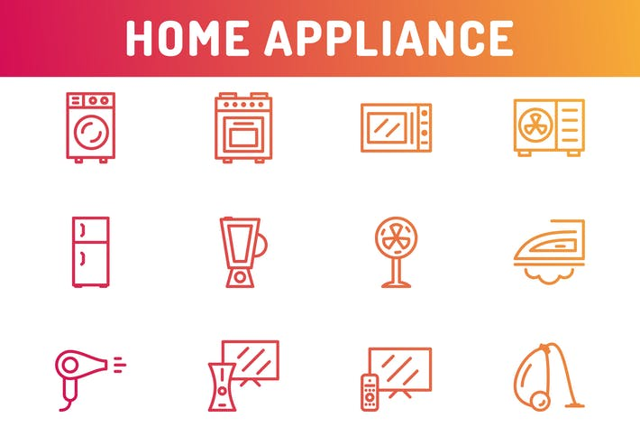 Thumbnail for Home Appliance Icons