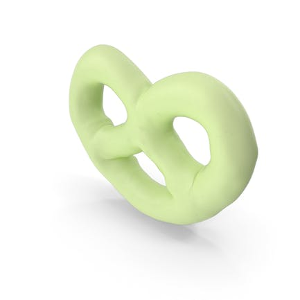 Key Lime Yogurt Covered Mini Pretzel