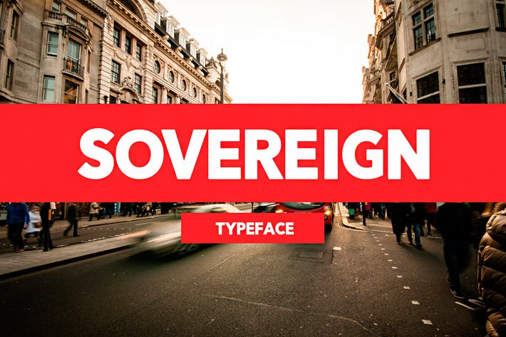 Thumbnail for Sovereign Typeface