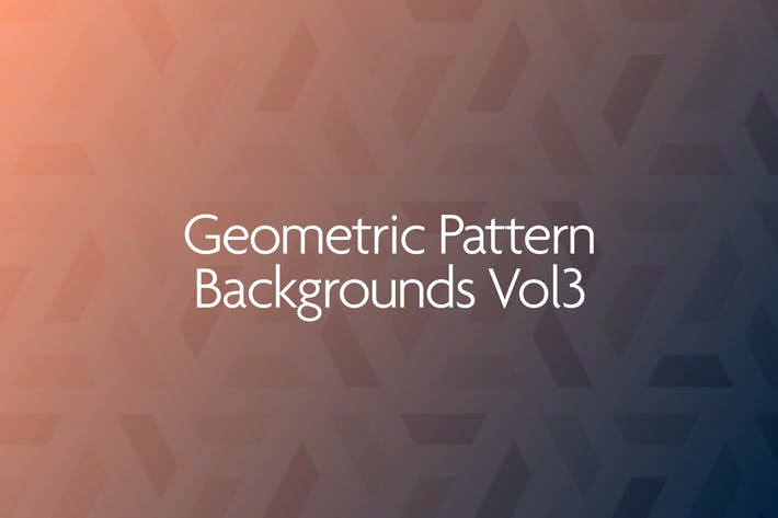 Thumbnail for Geometric Pattern Backgrounds Vol.3