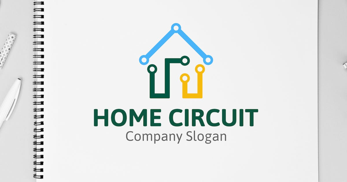 Download Home Circuit Logo by yandidesigns