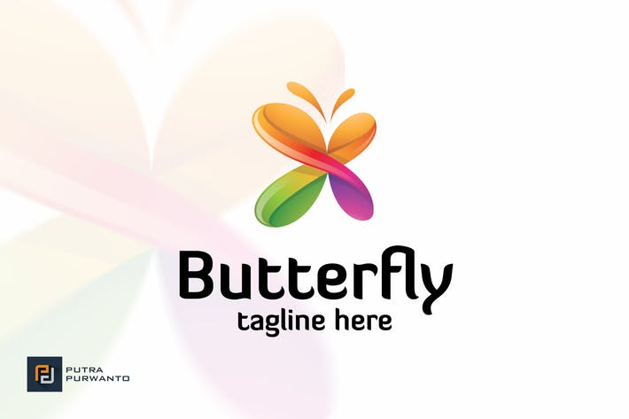 Thumbnail for Butterfly - Logo Template