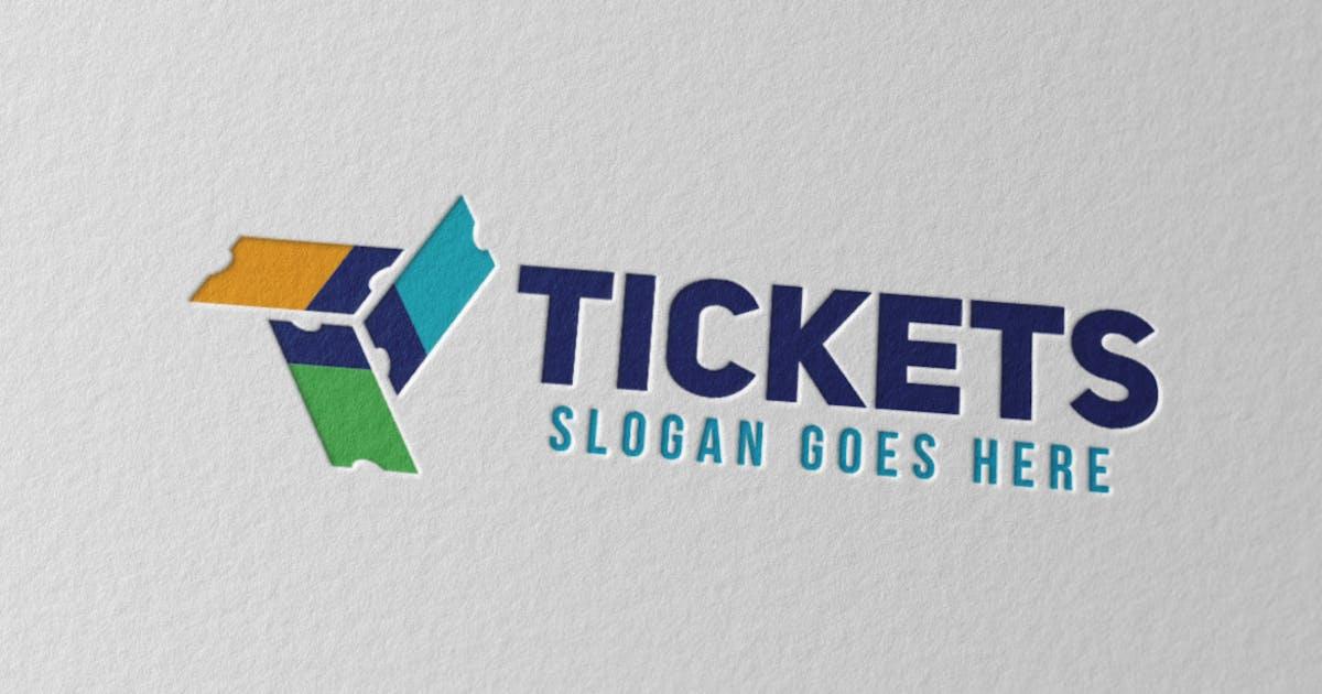 Download Tickets Logo by Scredeck