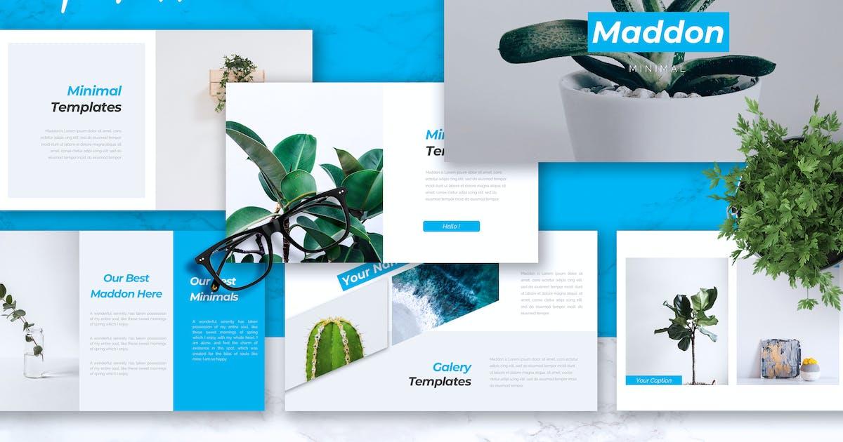 Download MADDON - Company Profile Keynote Template by RahardiCreative
