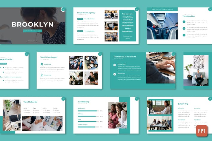 Thumbnail for Brooklyn - Travel Agency (Powerpoint)