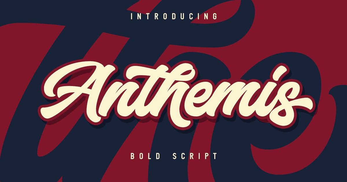Download Anthemis - Elegant Bold Script font by Blankids