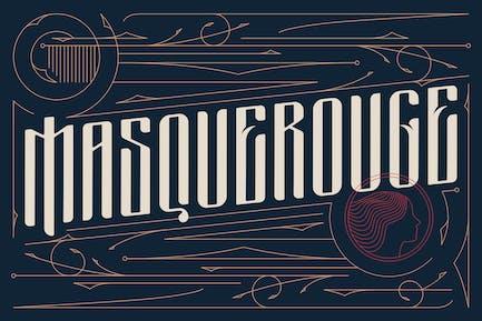 Masquerouge - Fuente victoriana