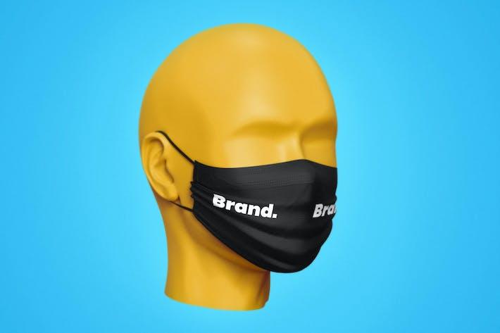 Thumbnail for Medical Mask Mockup Template