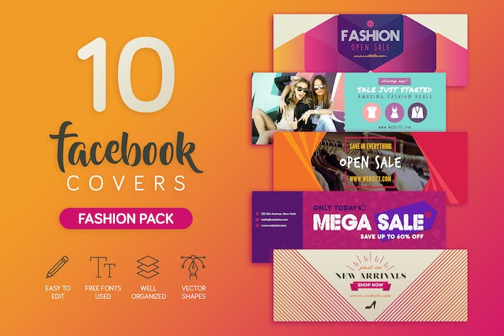 Thumbnail for Fashion Facebook Cover