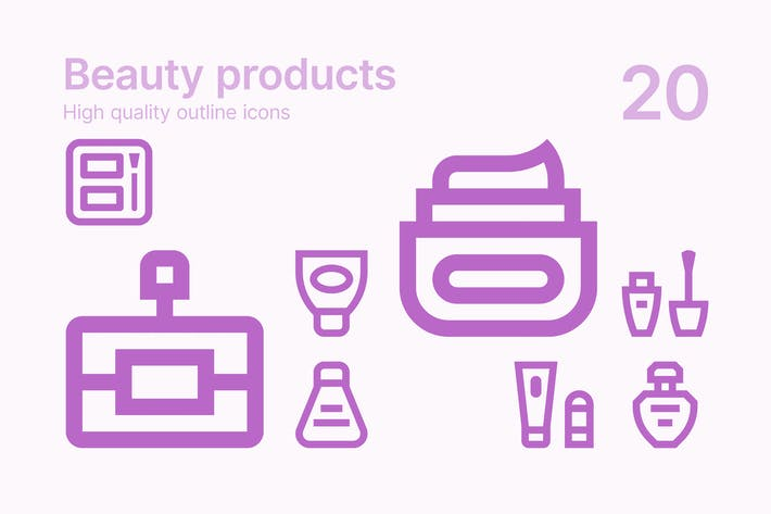 Thumbnail for Beauty Products Icons