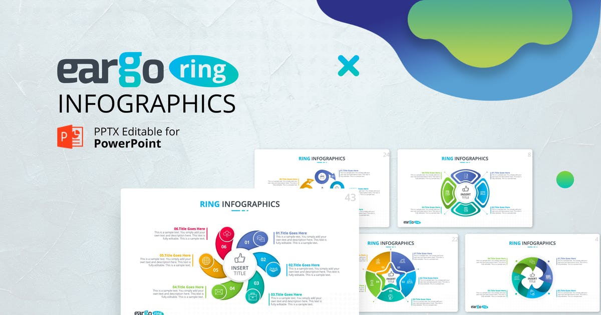 Download Eargo Ring – Circular Diagram Presentation by Premast