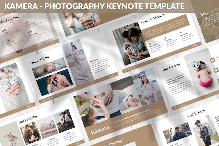 Thumbnail for Kamera - Шаблон ключевых заметок фотографии