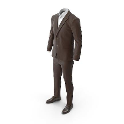 Men's Suit Brown