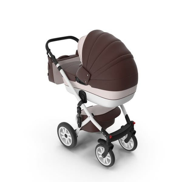 Thumbnail for Baby Stroller Brown
