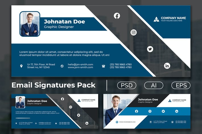 E-Mail-Signaturpaket