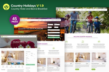 CountryHolidays - Country Hotel and Bed&Breakfast