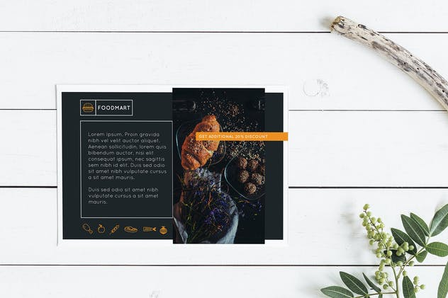 Foodmart Postcard – Promotional - product preview 1