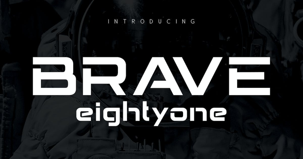 Download BRAVE Eighty one by alit_design