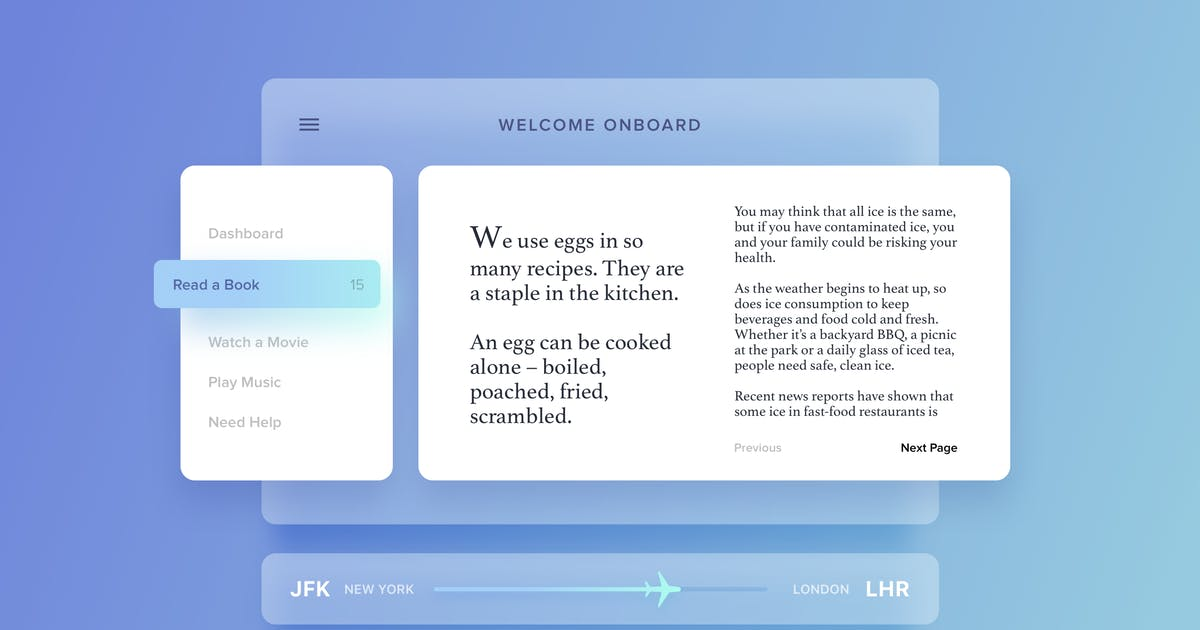 Download Airplane Dashboard Interface by cerpow