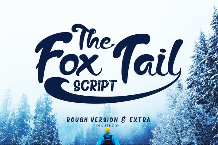 Thumbnail for The Fox Tail - Font Duo