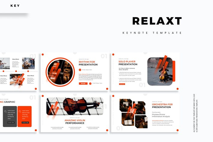 Relax - Keynote Template