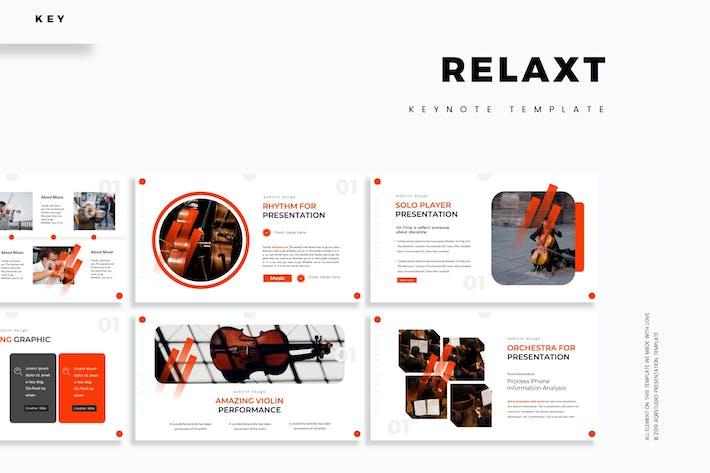 Relax - Шаблон Keynote