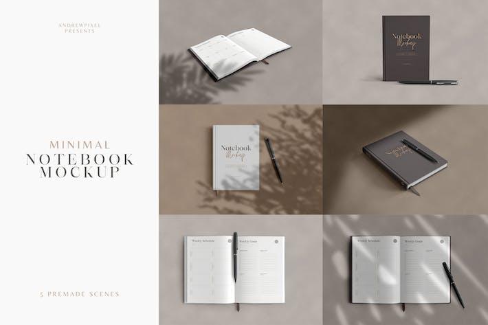 Thumbnail for Minimal Notebook Mockups