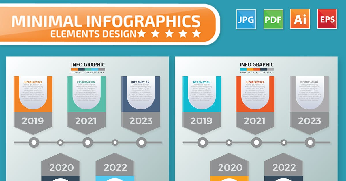 Download Timeline Infographic Elements by mamanamsai