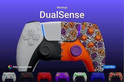 PS5 Controller DualSense Mockup