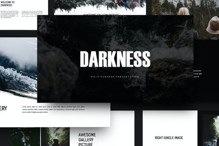 Darkness - Keynote Template