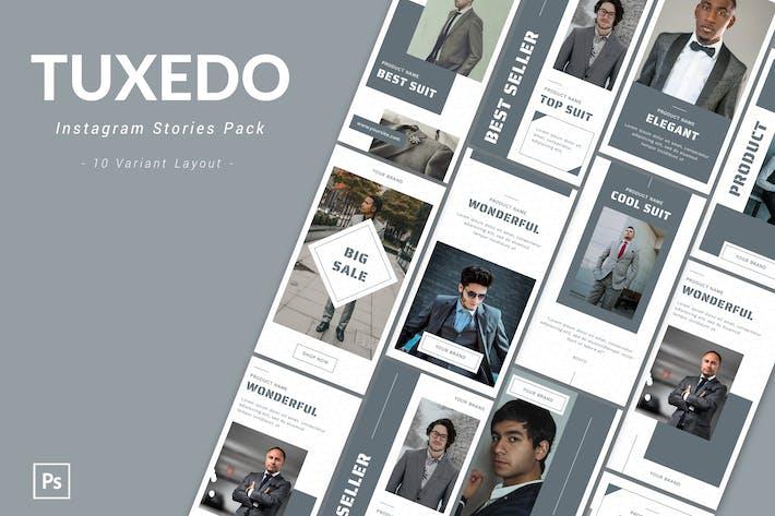 Thumbnail for Tuxedo - Instagram Story Pack