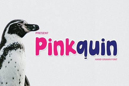 Pinkquin Fuente dibujada a mano