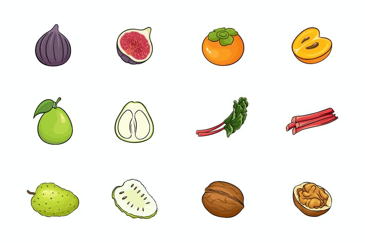 Thumbnail for Fruits Illustration V.7