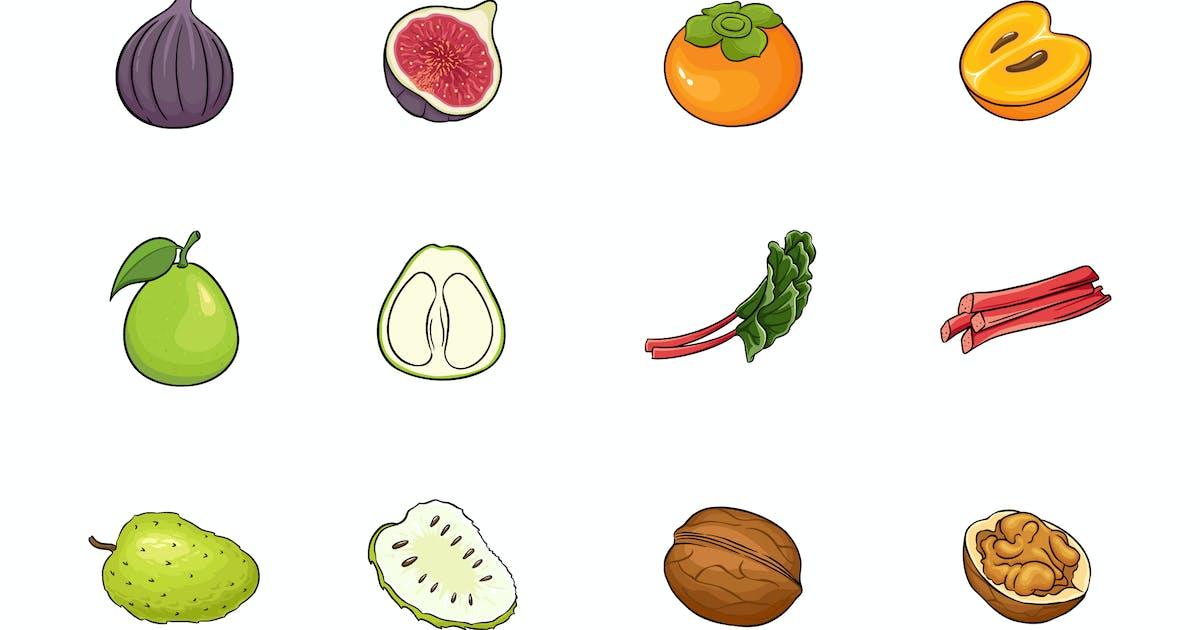 Download Fruits Illustration V.7 by deemakdaksinas