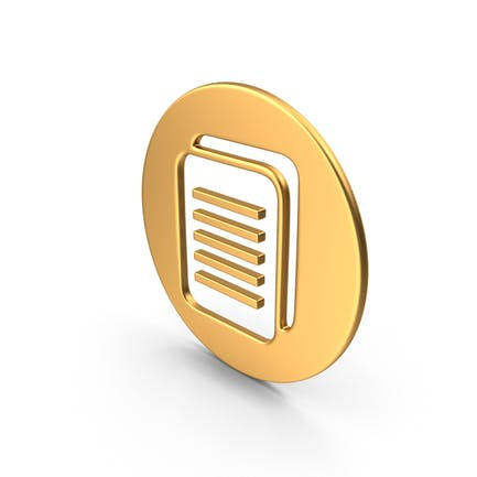 Documentos Símbolo Oro