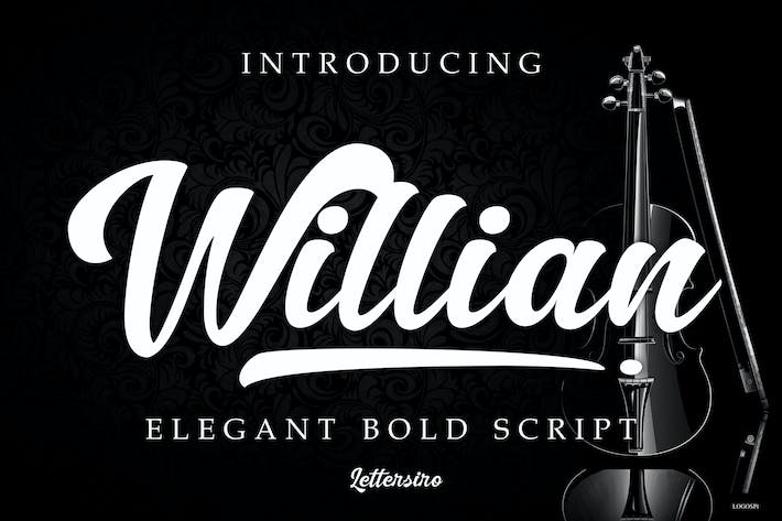 Thumbnail for Willian Elegant Bold Script