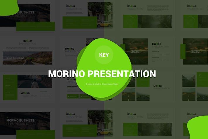 Thumbnail for Morino - Keynote Vorlage