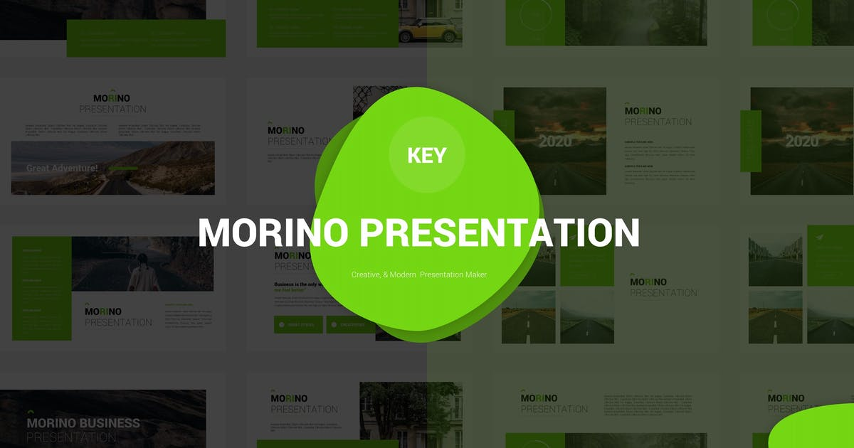 Download Morino - Keynote Template by Fannanstudio