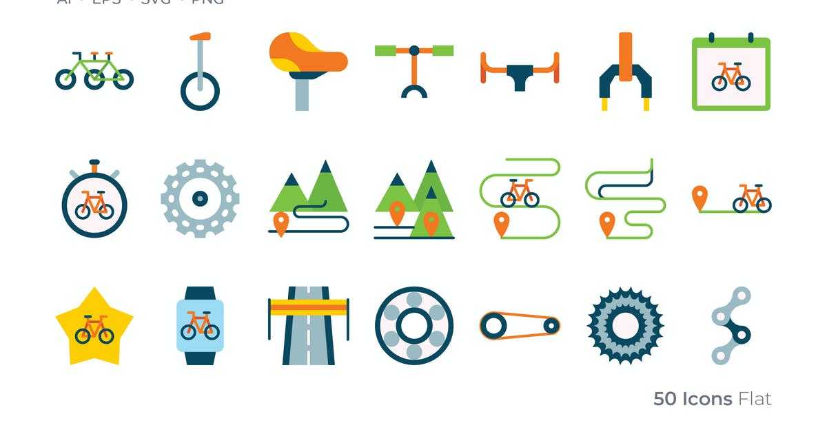Download Bicycle Color Icon by GoodWare_Std