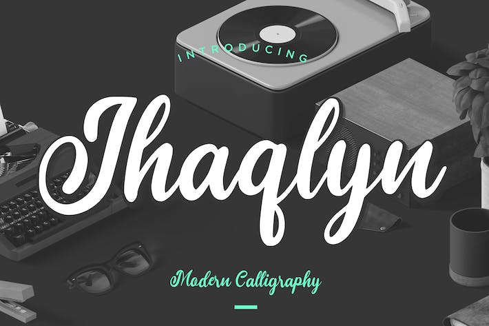 Thumbnail for Jhaqlyn Modern Calligraphy