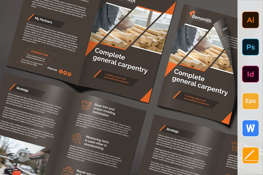 Carpenter Brochure Bifold