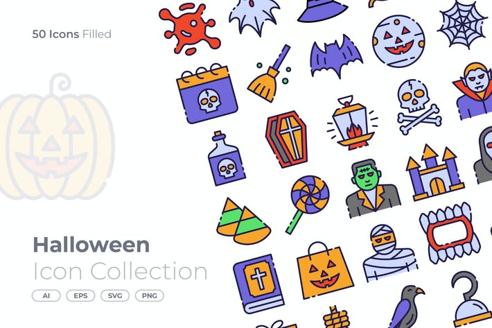 Thumbnail for Halloween Filled Icon