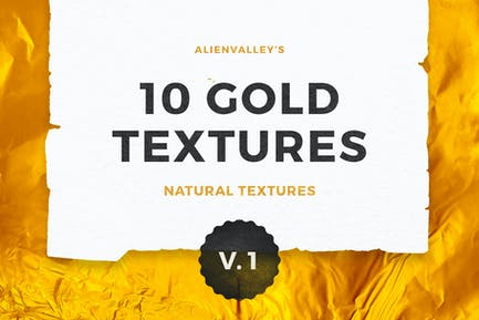 10 Gold Textures Vol. 1