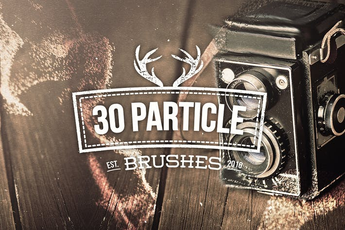 Thumbnail for 30 Particle Photoshop Brushes