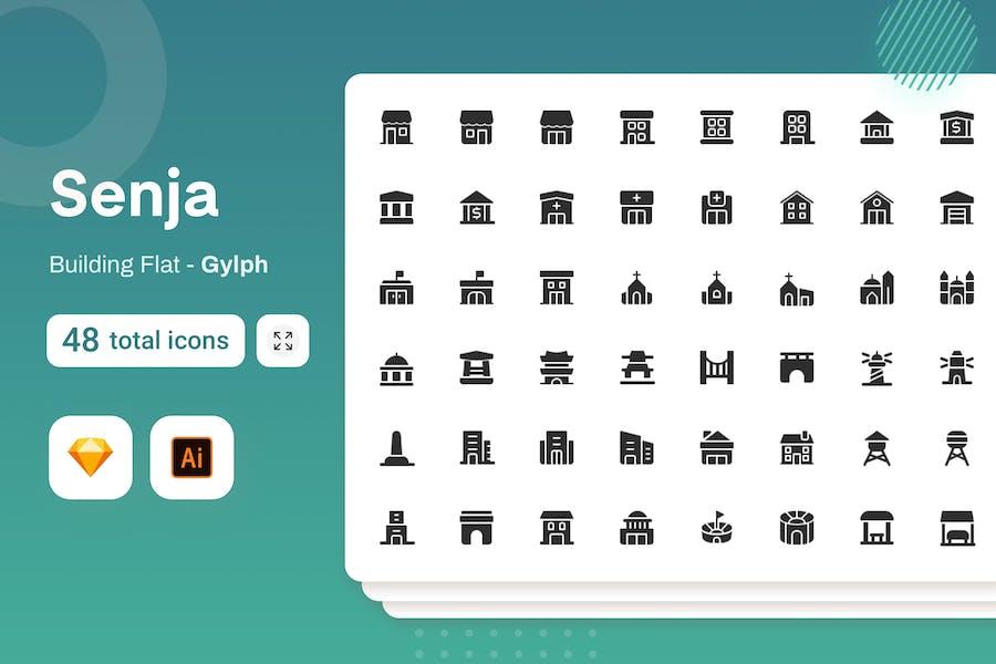 Gylph Senja - Building