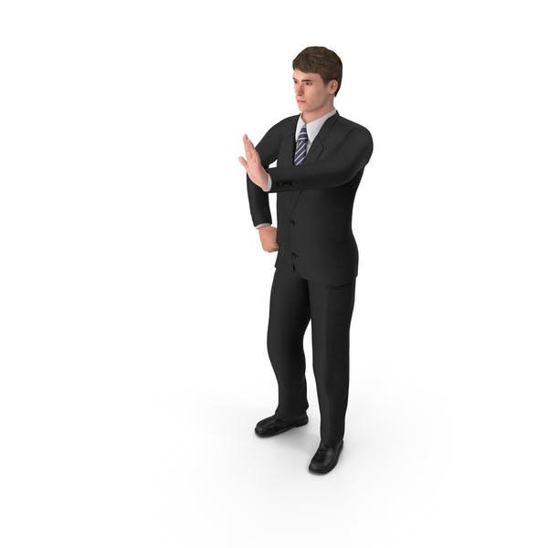 Businessman John Stopping