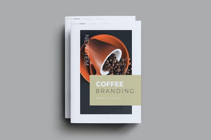 Thumbnail for Coffee Branding Brochure Template