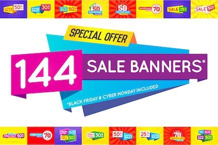 144 banners de venta impresionante (+BF & CM)