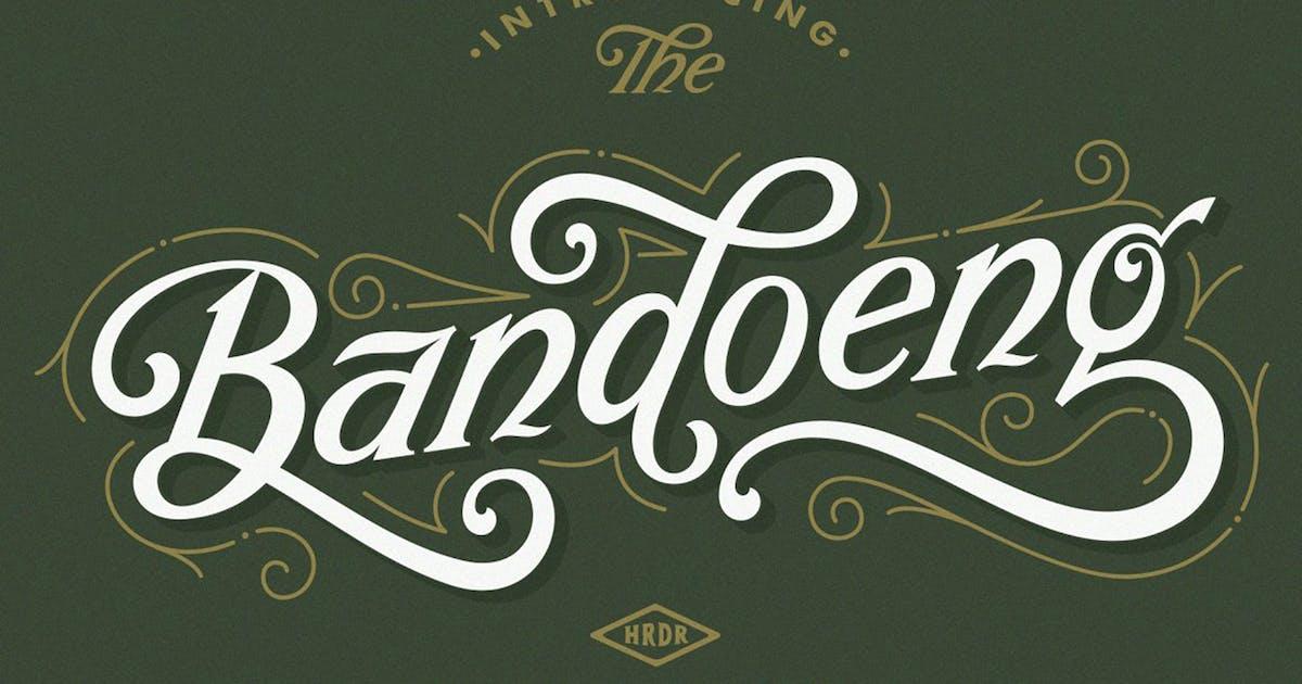 Download Bandoeng Font by HRDR